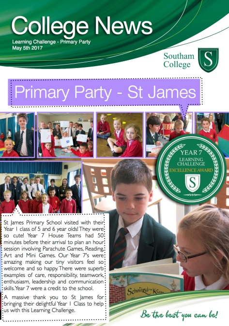 primary party copy